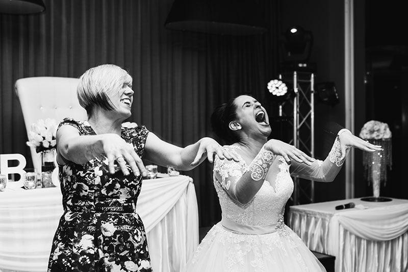 perth wedding photography perth city wedding image of bride dancing at receptio