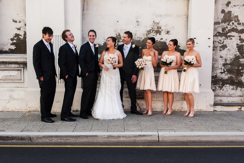 perth wedding planning wedding photo locations perth image of bridal party in fremantle