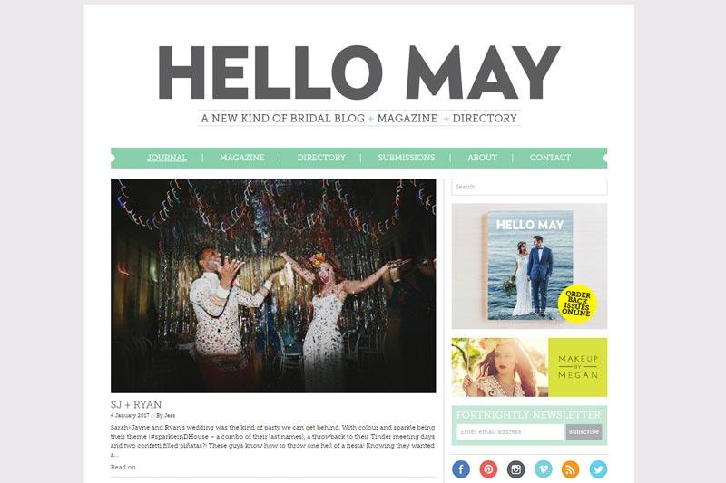 top australian wedding blogs image of hello may blog