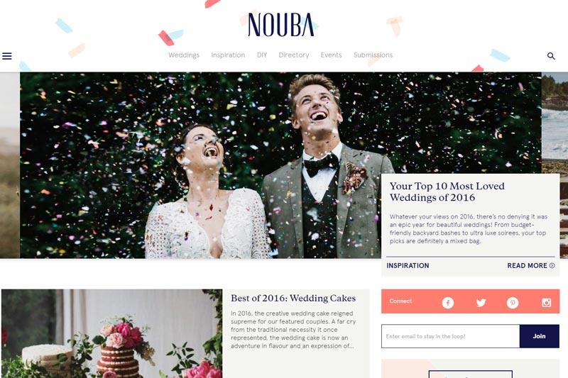 top australian wedding blogs image of nouba blog