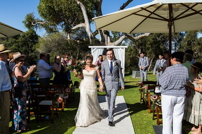 fremantle wedding photographer fremantle wedding perth wedding photographer image of bride and groom walking down isle