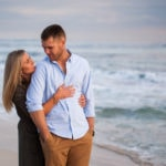perth engagement shoot perth wedding photographers image of couple at iluka beach