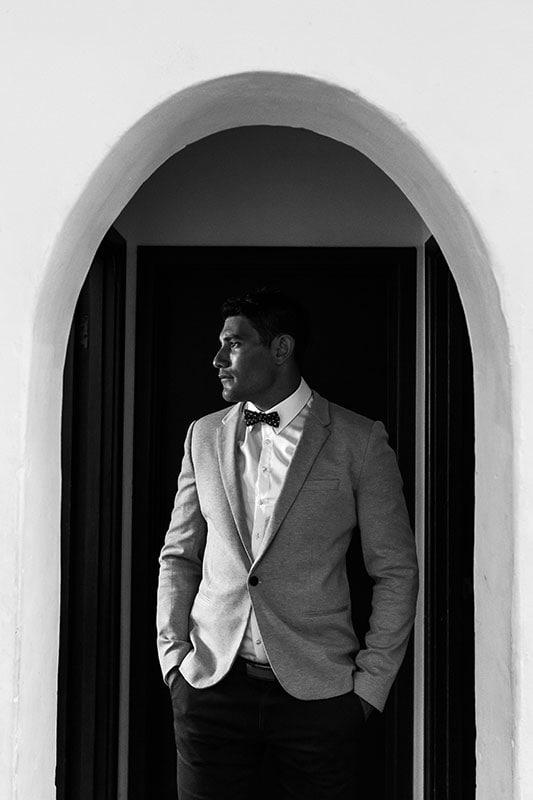 perth wedding photographer rottnest island wedding image of groom