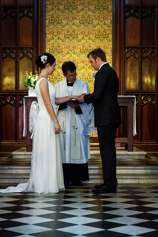 perth wedding photographer perth wedding image of bride and groom at church ceremony