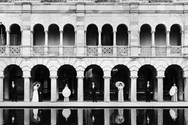 perth wedding photographer perth wedding image of bride and groom at uwa