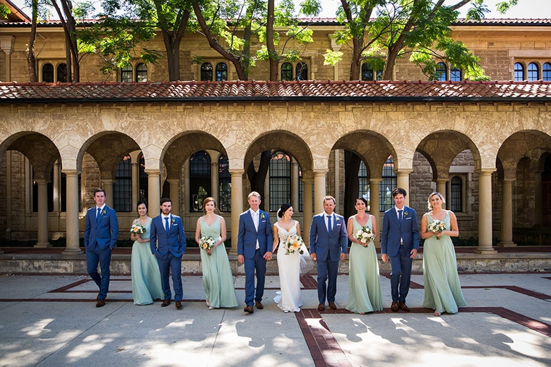 perth wedding photographer best wedding and engagement photo locations perth fremantle wedding photographer image of university of western australia wedding