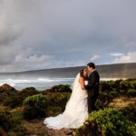 wedding planning top australian wedding blogs perth image of bride and groom on beach in yallingup