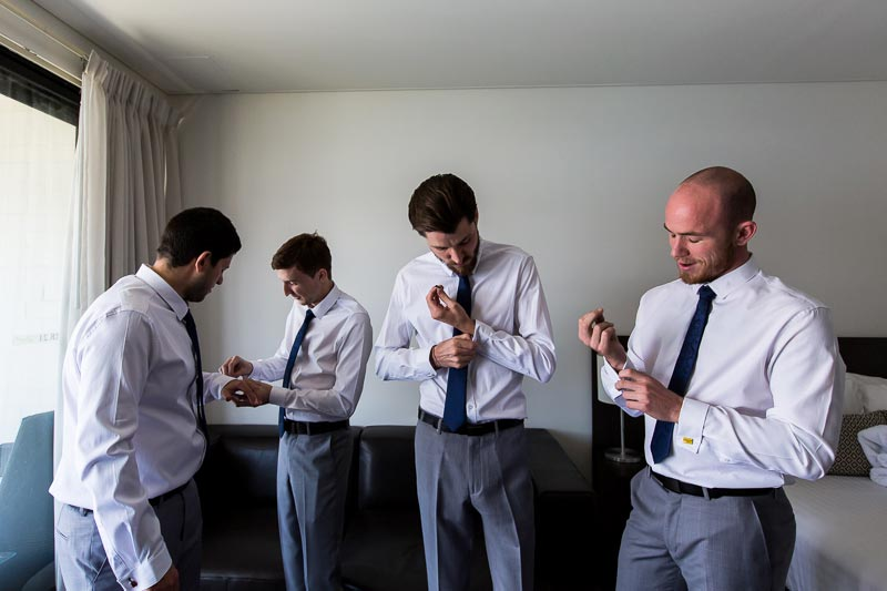 fremantle wedding photographer fremantle wedding perth wedding photographer image of groom getting read