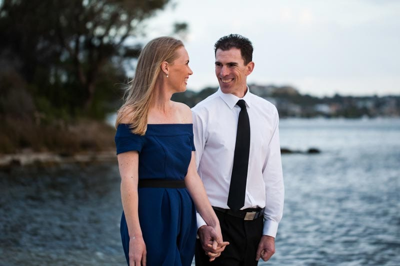 pre wedding photos perth wedding photography perth image of couple at Point Walter