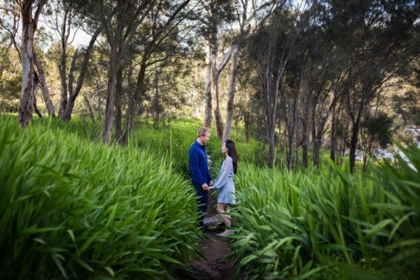 Bells Rapids Engagement Shoot | Perth Engagement Shoot | Rikki & Jamie