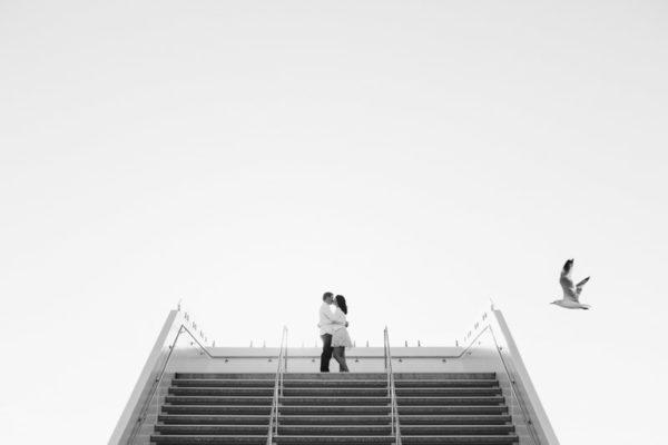 City Beach Perth Engagement Photos | Wedding Photographer Perth | Rebeccca & Trevor