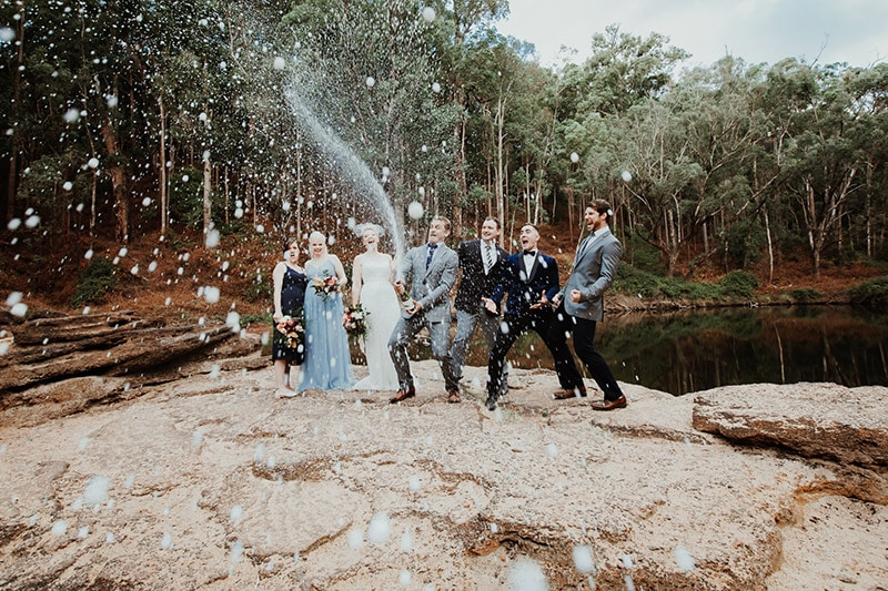 best forest wedding venues perth south west wa nanga bush camp dwellingup image of nanga bush camp wedding in dwellingup