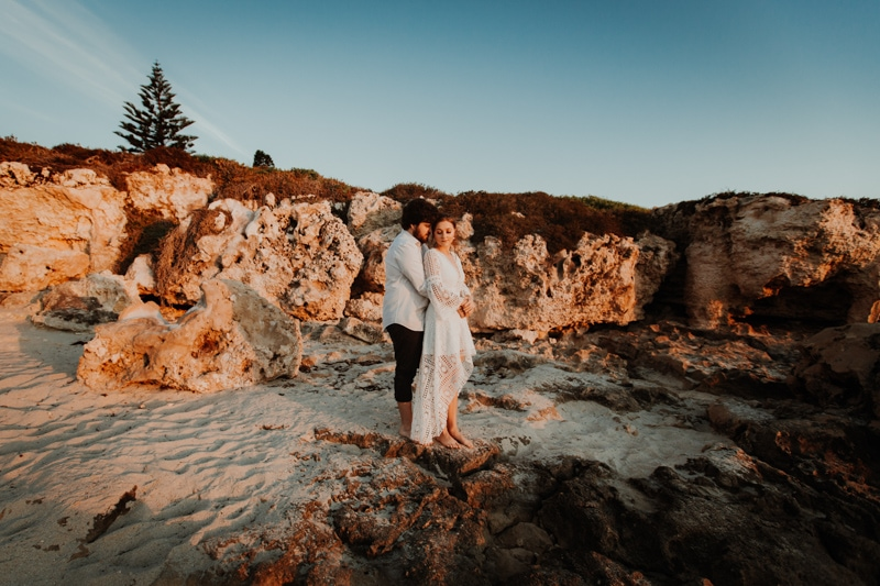 pre wedding photos perth perth wedding photographers burns beach engagement shoot image of pre wedding photos perth at burns beach perth