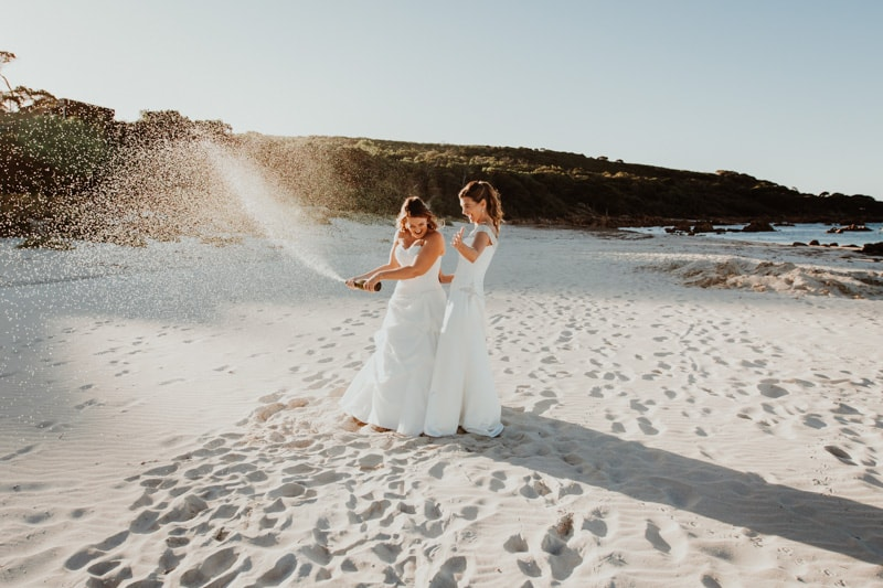 bunkers beach house wedding bunker bay wedding dunsborough wedding photographer south west wedding photographers perth same sex wedding image of same sex bunkers beach house wedding in dunsborough
