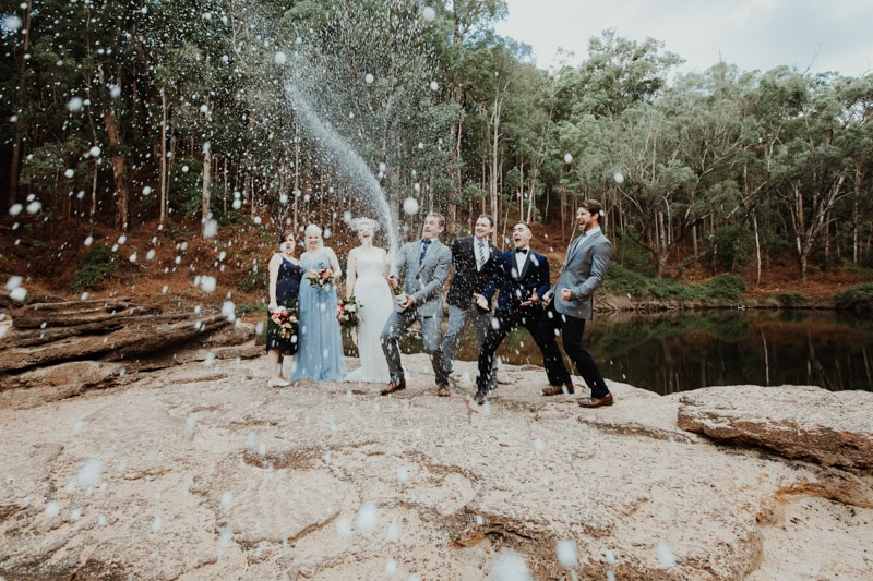 nanga bush camp wedding dwellingup currawong perth wedding photographers image of forest wedding at nanga bush camping in dwellingup