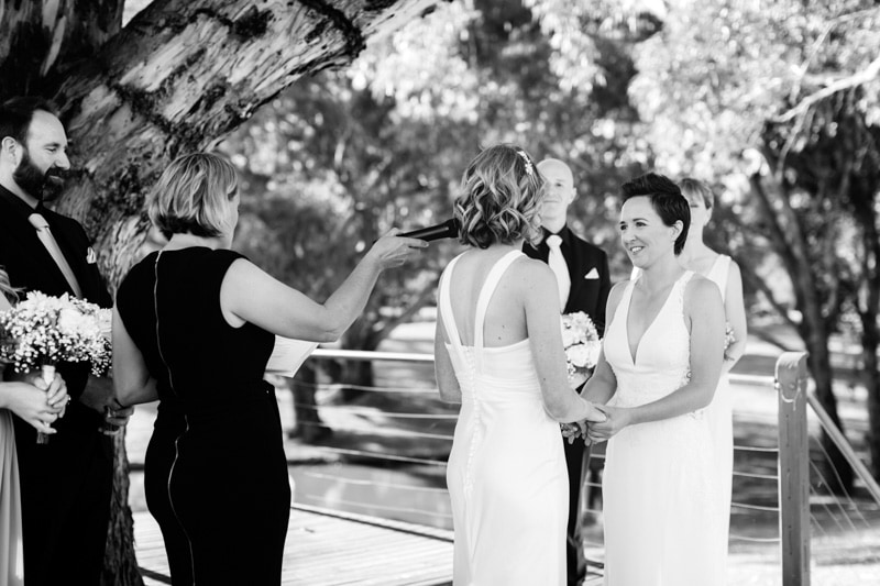 upper reach winery wedding riverbrook restaurant wedding swan valley wedding perth lesbian wedding lgbt wedding photographers perth image of same sex wedding at upper reach winery in swan valley