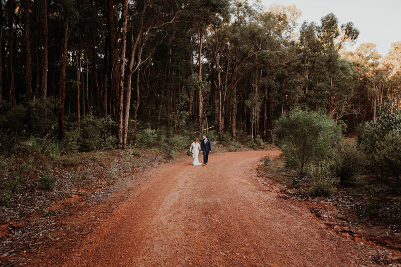 nanga bush camp wedding dwellingup best forest wedding venue perth wedding photographer perth image of nanga bush camp wedding in dwellingup