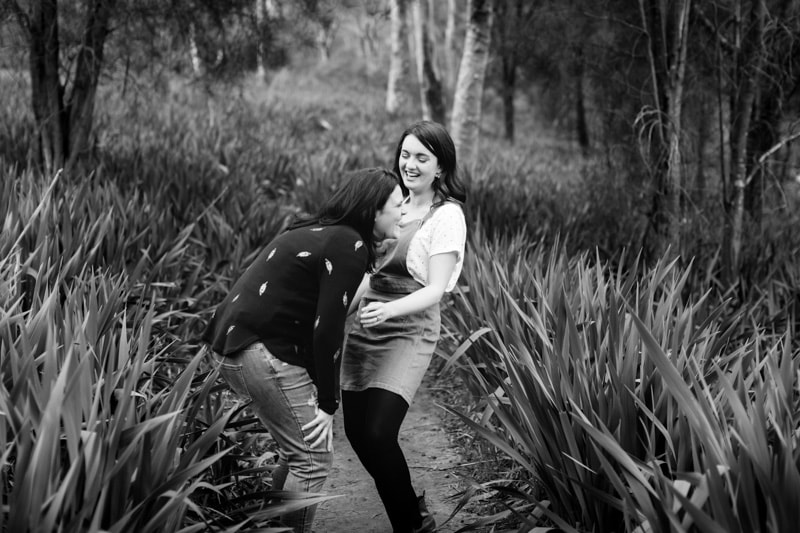 perth engagement photography perth same sex wedding pre wedding photos perth image of same sex engagement shoot at bells rapids