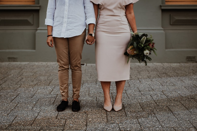 elopement photographer perth same sex elopement perth wedding photographer perth image of perth elopement