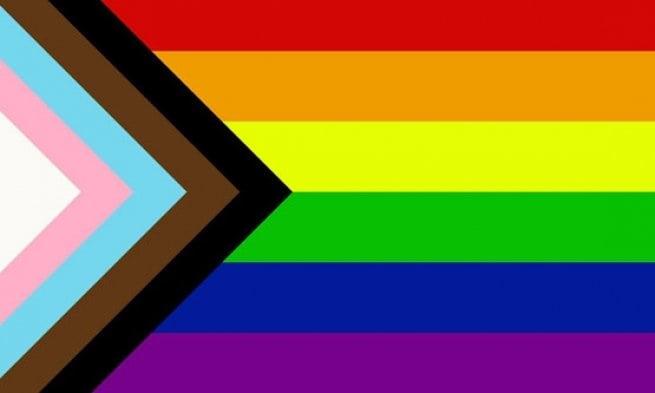 perth LGBTQIA wedding photographer image of progress pride flag